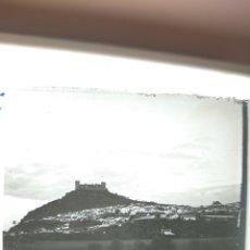 Fotografía antigua: PLACA ESTEREOSCÓPICA CRISTAL EN POSITIVO CASTILLO A IDENTIFICAR. Lote 234479225