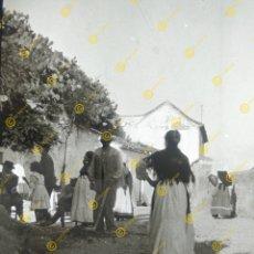 Fotografía antigua: PLACA DE CRISTAL POSITIVO GRANADA AÑO 1900. Lote 235384645