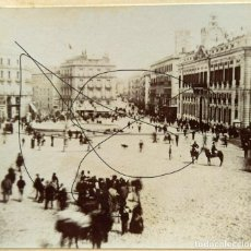 Photographie ancienne: MADRID PUERTA DEL SOL. Lote 235418340