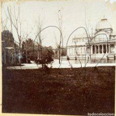 Fotografía antigua: MADRID PALACIO DE CRISTAL EN EL RETIRO. Lote 235418850