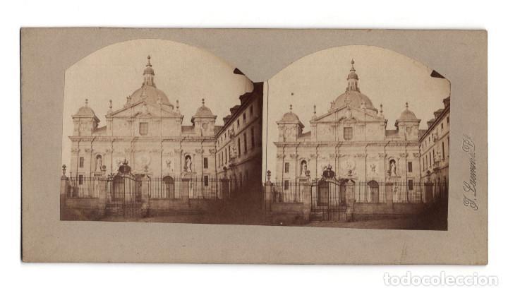 MADRID.- CONVENTO DE LAS SALESAS REALES. J. LAURENT. (Fotografía Antigua - Estereoscópicas)