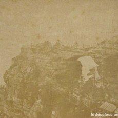 Fotografía antigua: 1 CARTON ESTEREO. PREBISCHTOR . 8,5 X 17 CM. Lote 235987685
