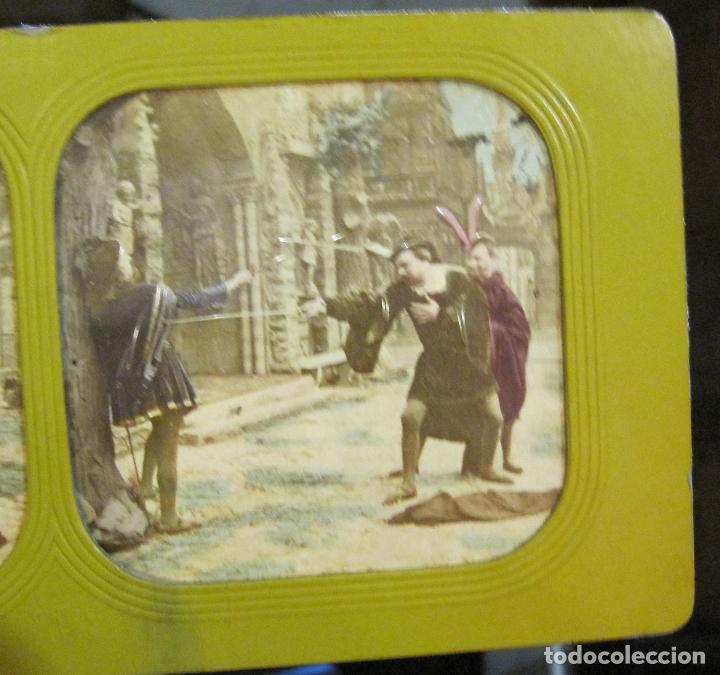 Fotografía antigua: ESTUCHE. FAUSTO, FAUST. ADOLPHE BLOCK. LES THEATRES PARIS. DIORAMA VINTAGE ALBUMINA TISSUE. C. 1865 - Foto 12 - 236131310