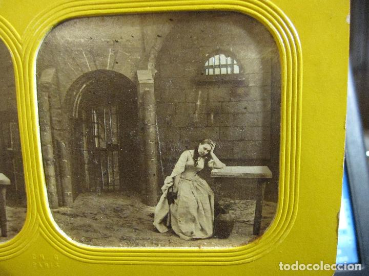 Fotografía antigua: ESTUCHE. FAUSTO, FAUST. ADOLPHE BLOCK. LES THEATRES PARIS. DIORAMA VINTAGE ALBUMINA TISSUE. C. 1865 - Foto 16 - 236131310