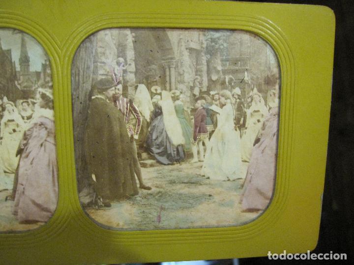 Fotografía antigua: ESTUCHE. FAUSTO, FAUST. ADOLPHE BLOCK. LES THEATRES PARIS. DIORAMA VINTAGE ALBUMINA TISSUE. C. 1865 - Foto 19 - 236131310