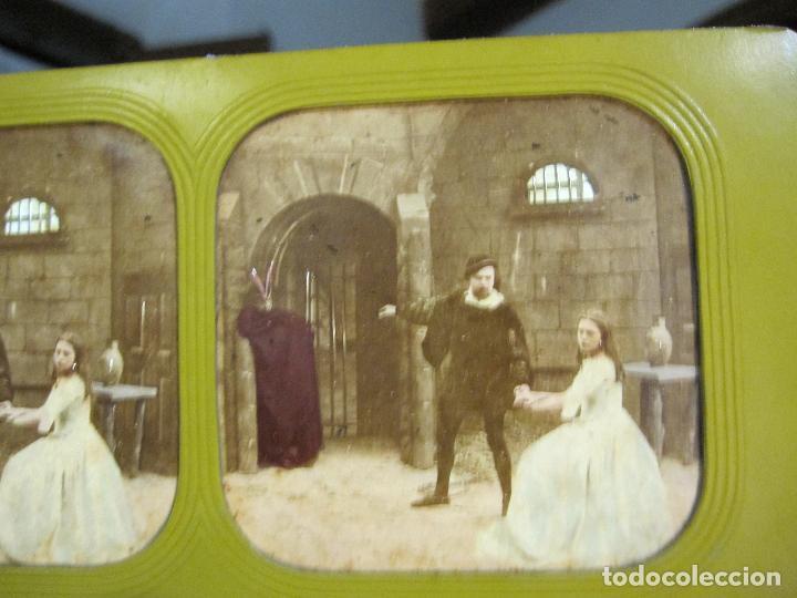 Fotografía antigua: ESTUCHE. FAUSTO, FAUST. ADOLPHE BLOCK. LES THEATRES PARIS. DIORAMA VINTAGE ALBUMINA TISSUE. C. 1865 - Foto 20 - 236131310