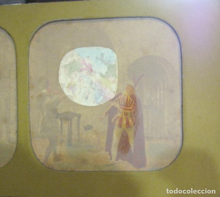 Fotografía antigua: ESTUCHE. FAUSTO, FAUST. ADOLPHE BLOCK. LES THEATRES PARIS. DIORAMA VINTAGE ALBUMINA TISSUE. C. 1865 - Foto 22 - 236131310