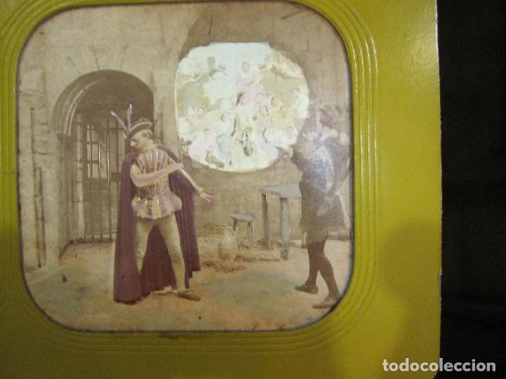 Fotografía antigua: ESTUCHE. FAUSTO, FAUST. ADOLPHE BLOCK. LES THEATRES PARIS. DIORAMA VINTAGE ALBUMINA TISSUE. C. 1865 - Foto 23 - 236131310