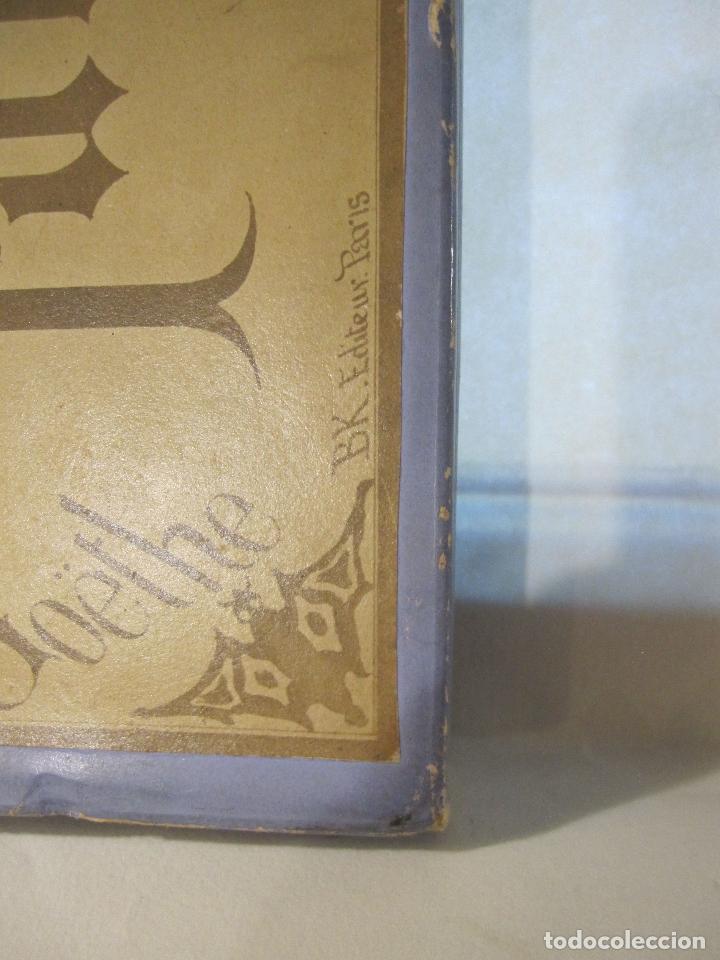 Fotografía antigua: ESTUCHE. FAUSTO, FAUST. ADOLPHE BLOCK. LES THEATRES PARIS. DIORAMA VINTAGE ALBUMINA TISSUE. C. 1865 - Foto 36 - 236131310