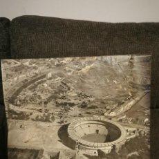 Fotografía antigua: FOTOGRAFÍA AÉREA FERIA DE JAÉN Y PLAZA DE TOROS. 1962. Lote 238137500