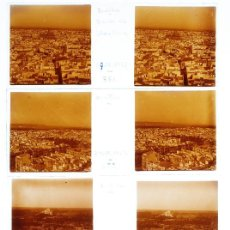 Fotografía antigua: SEVILLA - 1920'S. LOTE DE 7 CRISTALES POSITIVOS ESTEREO 10X4 CM.. Lote 238888445