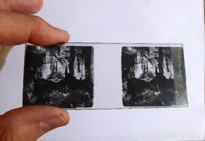 Fotografía antigua: F-4970. CUEVAS DEL DRACH(MANACOR-MALLORCA). CAJITA CON 9 ESTEREOSCÓPICAS. PRIMERA SERIE. - Foto 3 - 243928115