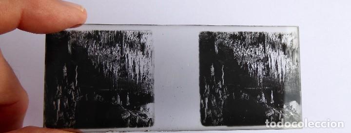 Fotografía antigua: F-4970. CUEVAS DEL DRACH(MANACOR-MALLORCA). CAJITA CON 9 ESTEREOSCÓPICAS. PRIMERA SERIE. - Foto 5 - 243928115