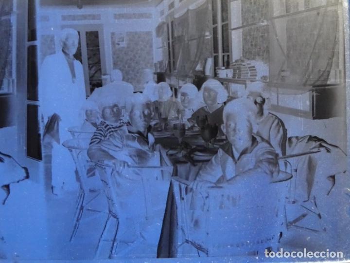 Fotografía antigua: 22 CRISTALES NEGATIVOS - POSITIVOS FOTOS ESTEREOSCOPICAS PRINCIPIO SIGLO XX.BARCELONA. - Foto 10 - 244683810