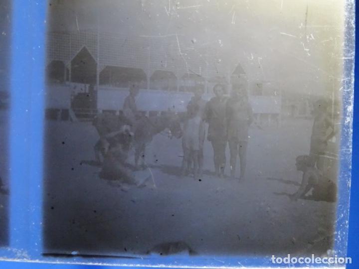 Fotografía antigua: 17 CRISTALES NEGATIVOS - POSITIVOS FOTOS ESTEREOSCOPICAS PRINCIPIO SIGLO XX.BARCELONA. - Foto 9 - 244688525
