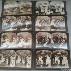 Fotografía antigua: LOTE 8 FOTOGRAFÍAS ESTEREOSCÓPICAS. THE PERFEC 1903.. Lote 245384290