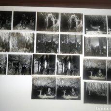 Fotografía antigua: LOTE DE PLACAS ESTEREOSCOPICAS EN POSITIVO CUEVAS DEL DRACH MALLORCA. PP.S.XX. Lote 250170160