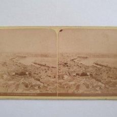 Fotografía antigua: CÓRDOBA - PANORÁMA - ALBÚMINA SOBRE CARTÓN 17 X 8,3 CM. - LCC. Lote 253008165