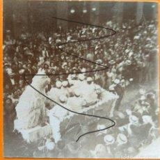 Fotografía antigua: VALENCIA 1903 EL COSO BLANCO. Lote 254191550