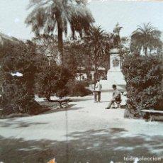 Fotografía antigua: VALENCIA ESTATUA DEL REY DON JAIME 1903. Lote 257309885