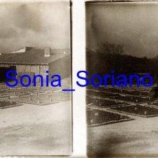 Fotografia antica: VALENCIA. SECADERO DE HIGOS? AÑOS 20. - FOTOGRAFIA ESTEREOSCOPICA POSITIVO EN CRISTAL. Lote 258548515