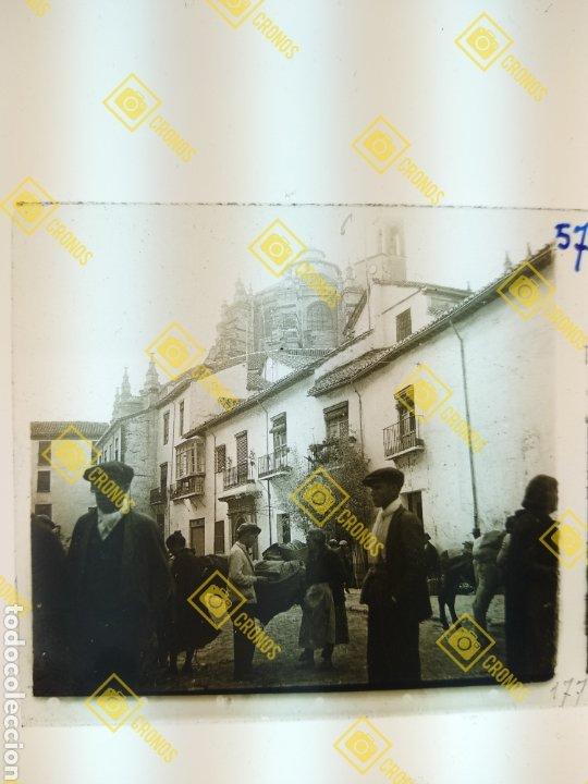 PLACA ESTEREOSCÓPICA CRISTAL EN POSITIVO GRANADA SOBRE 1930. (Fotografía Antigua - Estereoscópicas)