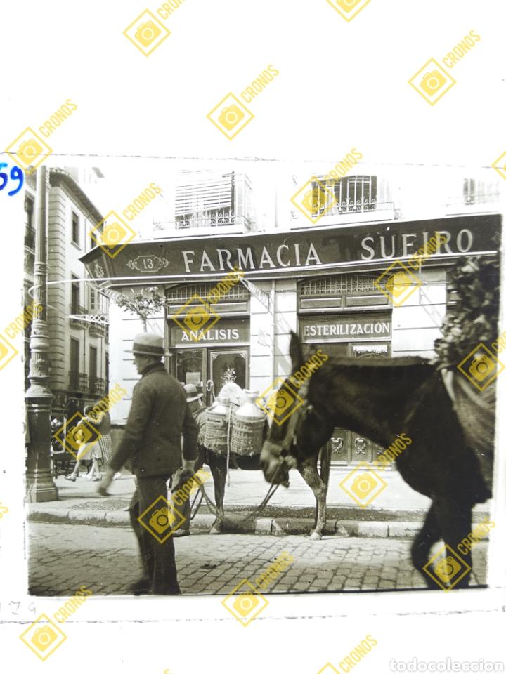 PLACA CRISTAL ESTEREOSCOPICA POSITIVO GRANADA SOBRE 1930. (Fotografía Antigua - Estereoscópicas)