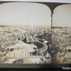 Fotografía antigua: 6 ESTEREOSCOPICAS CARTON. ITALIA. ROMA, VATICANO, PISA, VENECIA.... Lote 261549760