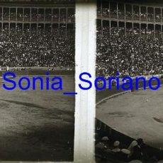 Fotografía antigua: VALENCIA. PLAZA DE TOROS AÑOS 20 - FOTOGRAFIA ESTEREOSCOPICA POSITIVO EN CRISTAL. Lote 261564270