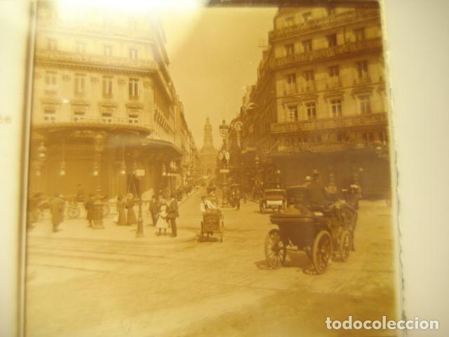 FRANCIA PARIS CARREFOUR LAFAYETTE CRISTAL ESTEREOSCOPICO AÑOS 1900 -MIRA OTROS EN VENTA (Fotografía Antigua - Estereoscópicas)
