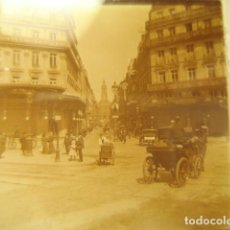 Fotografía antigua: FRANCIA PARIS CARREFOUR LAFAYETTE CRISTAL ESTEREOSCOPICO AÑOS 1900 -MIRA OTROS EN VENTA. Lote 261880840