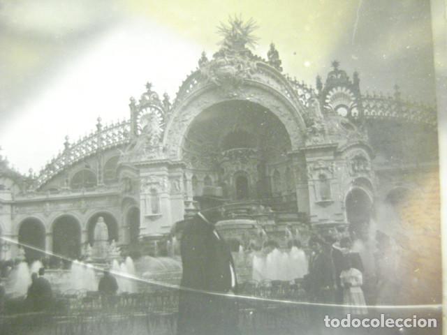FRANCIA PARIS PALACIO ELECTRICIDAD CRISTAL ESTEREOSCOPICO AÑOS 1900 -MIRA OTROS EN VENTA (Fotografía Antigua - Estereoscópicas)
