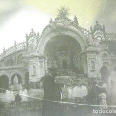 Fotografía antigua: FRANCIA PARIS PALACIO ELECTRICIDAD CRISTAL ESTEREOSCOPICO AÑOS 1900 -MIRA OTROS EN VENTA. Lote 261880890
