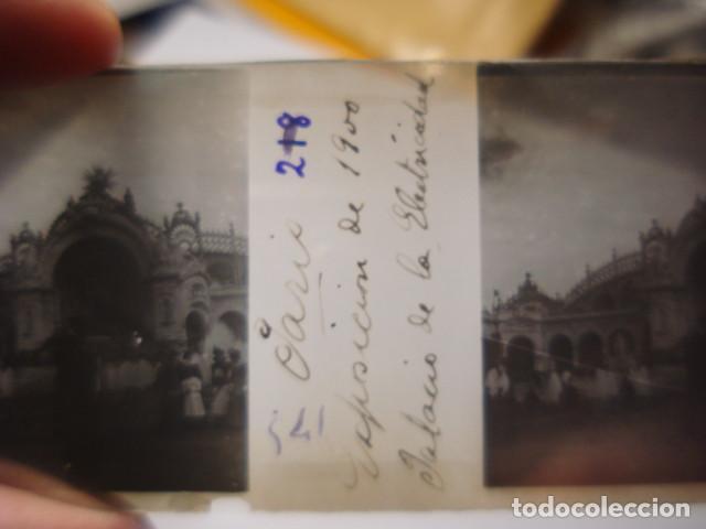 Fotografía antigua: FRANCIA PARIS PALACIO ELECTRICIDAD CRISTAL ESTEREOSCOPICO AÑOS 1900 -MIRA OTROS EN VENTA - Foto 2 - 261880890