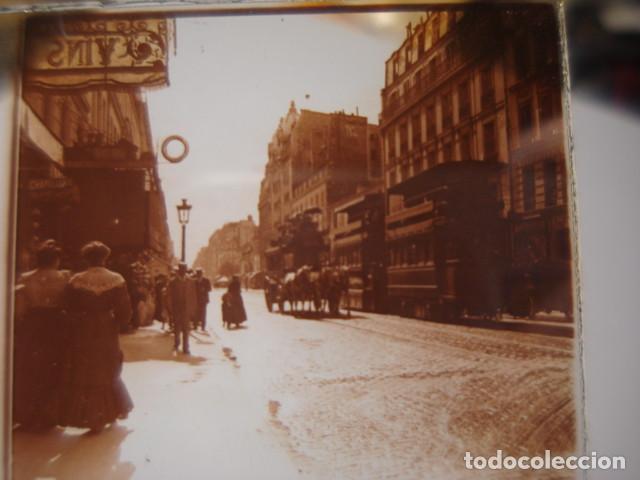 FRANCIA PARIS RUE LAFAYETTE CRISTAL ESTEREOSCOPICO AÑOS 1900 -MIRA OTROS EN VENTA (Fotografía Antigua - Estereoscópicas)