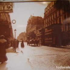Fotografía antigua: FRANCIA PARIS RUE LAFAYETTE CRISTAL ESTEREOSCOPICO AÑOS 1900 -MIRA OTROS EN VENTA. Lote 261880915