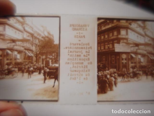 Fotografía antigua: FRANCIA PARIS LE JOURNAL LE MATIN CRISTAL ESTEREOSCOPICO AÑOS 1900 -MIRA OTROS EN VENTA - Foto 2 - 261880945