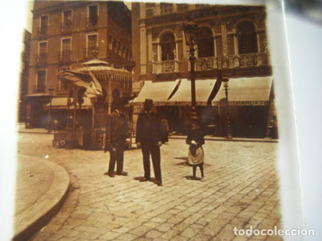HOTEL COLON ASTURIAS GIJON OVIEDO SANTANDER ? CRISTAL ESTEREOSCOPICO AÑOS 1900 OTROS EN VENTA (Fotografía Antigua - Estereoscópicas)