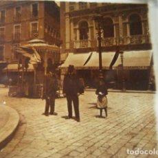 Fotografía antigua: HOTEL COLON ASTURIAS GIJON OVIEDO SANTANDER ? CRISTAL ESTEREOSCOPICO AÑOS 1900 OTROS EN VENTA. Lote 261880955
