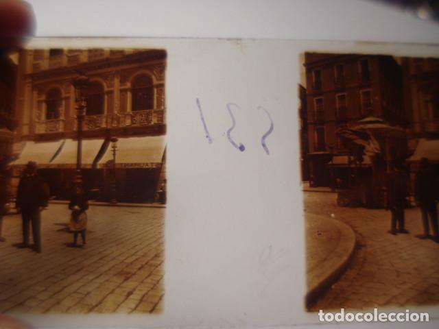 Fotografía antigua: HOTEL COLON ASTURIAS GIJON OVIEDO SANTANDER ? CRISTAL ESTEREOSCOPICO AÑOS 1900 OTROS EN VENTA - Foto 2 - 261880955