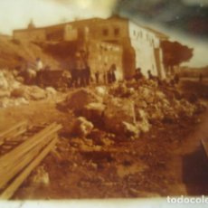 Fotografía antigua: MALAGA DERRIBO DE LA ALCAZABA CRISTAL ESTEREOSCOPICO AÑOS 1920 -MIRA OTROS EN VENTA. Lote 261880995