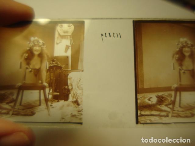 Fotografía antigua: PRECIOSO DESNUDO FEMENINO EROTICA CRISTAL ESTEREOSCOPICO AÑOS 1900 -MIRA OTROS EN VENTA - Foto 2 - 261881045