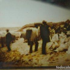 Fotografía antigua: SANTANDER CANTABRIA GRUPOS DEL SARDINERO CRISTAL ESTEREOSCOPICO AÑOS 1900 -MIRA OTROS EN VENTA. Lote 261881110