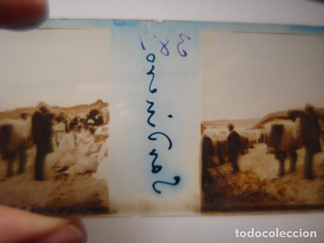 Fotografía antigua: SANTANDER CANTABRIA GRUPOS DEL SARDINERO CRISTAL ESTEREOSCOPICO AÑOS 1900 -MIRA OTROS EN VENTA - Foto 2 - 261881110