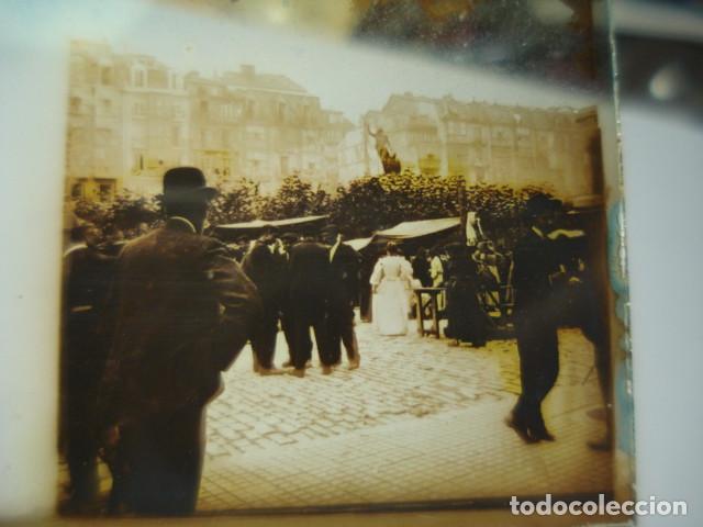 SANTANDER CANTABRIA EL PASEO CRISTAL ESTEREOSCOPICO AÑOS 1900 -MIRA OTROS EN VENTA (Fotografía Antigua - Estereoscópicas)