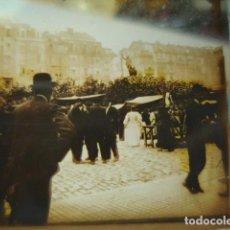 Fotografía antigua: SANTANDER CANTABRIA EL PASEO CRISTAL ESTEREOSCOPICO AÑOS 1900 -MIRA OTROS EN VENTA. Lote 261881120