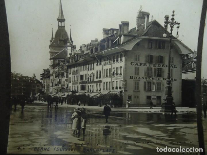 Fotografía antigua: 29 vistas ESTEREOSCOPICAS originales de 1900 Sevilla, Málaga, Londres, París, etc. MAGNIFICO LOTE - Foto 4 - 261903695