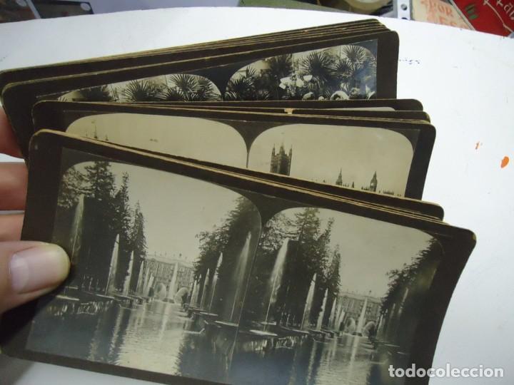 Fotografía antigua: 29 vistas ESTEREOSCOPICAS originales de 1900 Sevilla, Málaga, Londres, París, etc. MAGNIFICO LOTE - Foto 9 - 261903695