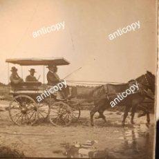 Fotografía antigua: POZOBLANCO, CÓRDOBA, EXCEPCIONAL LOTE 18 PLACAS CRISTAL, PERSONAS Y LUGARES, 1905!!!. Lote 263084850