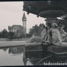 Fotografía antigua: VALENCIA VISTA DEL PALACIO RIPALDA NEGATIVO ESTEREOSCOPICO CELULOIDE 6 X 13 CM.. Lote 263104275